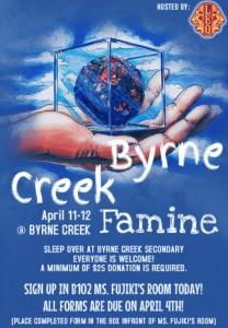 byrne creek famine poster