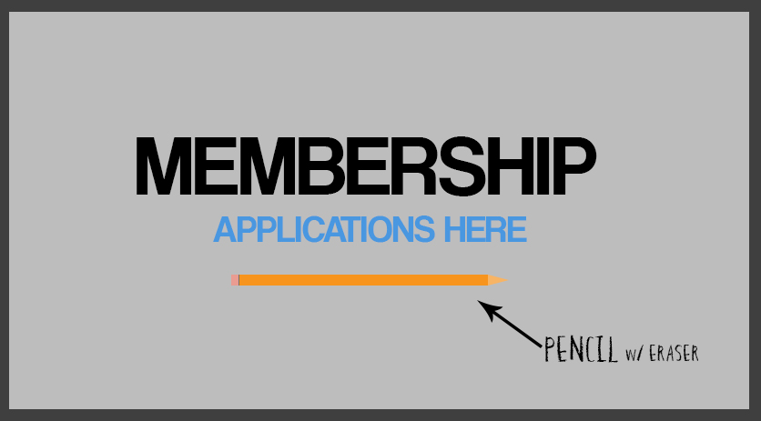 NEW MEMBERSHIP APPLICATION HERE!